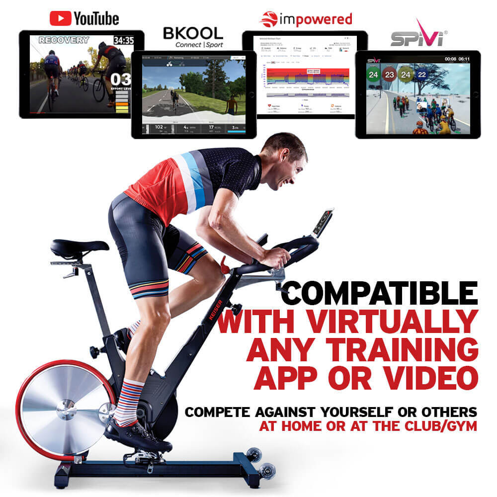 SHOP M3i Indoor Bike | Exclusive Keiser com Deals | Shop Online Today